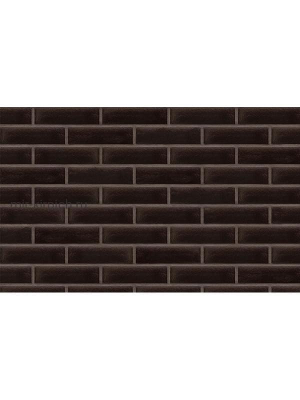 Клинкерная облицовочная плитка King Klinker Free Art ониксовый черный (17), 240*71*10 мм