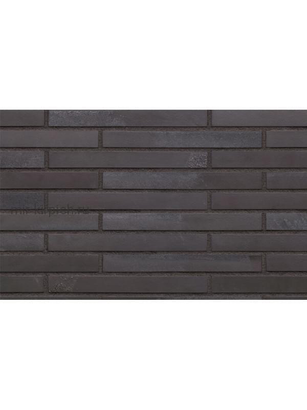 Клинкерная облицовочная плитка King Klinker KING SIZE 05 Black heart гладкая LF, 490*52*14 мм