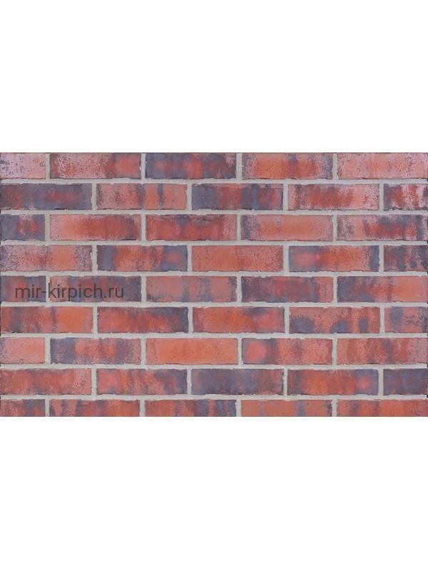 Клинкерная облицовочная плитка King Klinker Old Castle Heart brick (HF30) под старину NF10, 240*71*10 мм