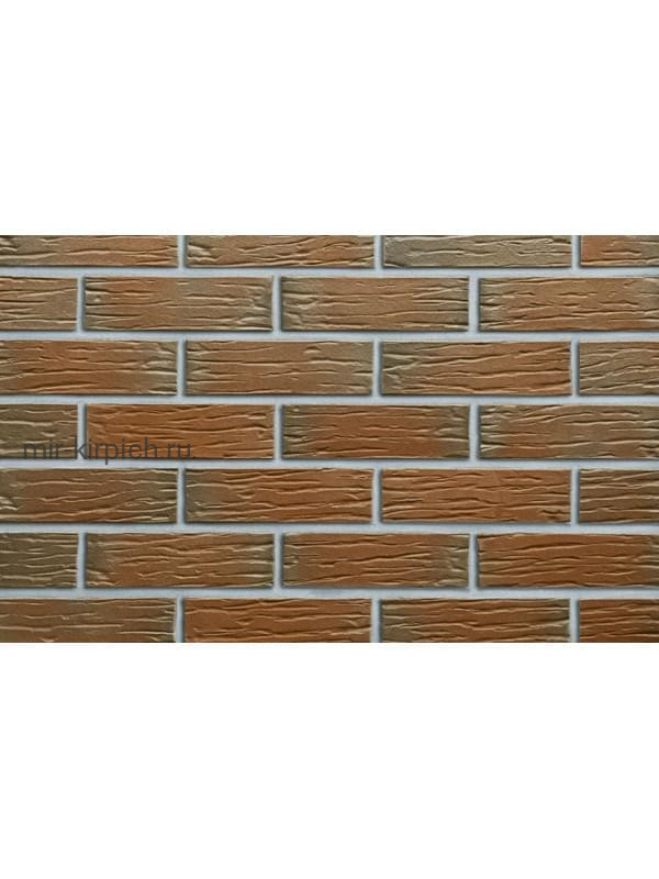 Клинкерная облицовочная плитка Roben Canberra рельефная NF15, 240*71*15 мм