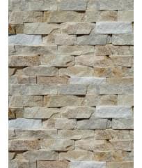 Фасадный облицовочный натуральный камень Cream Quartzite 40C