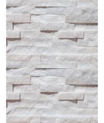 Фасадный облицовочный натуральный камень Diamond White 41N
