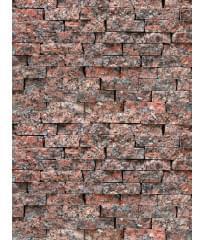 Натуральный камень Гранит Красный микс (лапша)