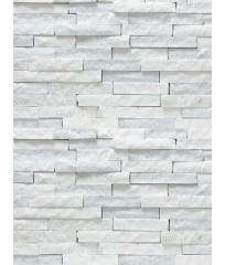 Натуральный камень Мрамор Белый (лапша)