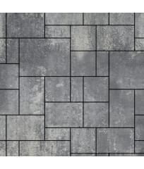 Тротуарная плитка Инсбрук Альпен ColorMix Актау (гладкая)