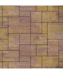 Тротуарная плитка Инсбрук Альпен ColorMix Тахель (гладкая)