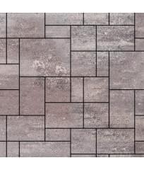 Тротуарная плитка Инсбрук Альпен ColorMix Умбра (гладкая)