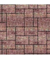 Тротуарная плитка Инсбрук Альпен ColorMix Порто (бассировка)