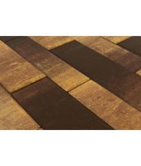 Тротуарная плитка Домино Color Mix Сафари (60мм)