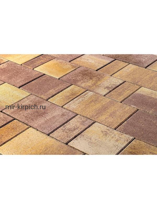 Тротуарная плитка Старый город «Ландхаус» Color Mix Степь (60мм)