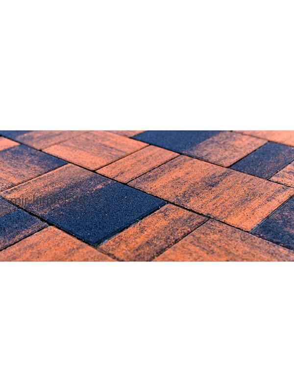 Тротуарная плитка Старый город «Ландхаус» Color Mix Техас (60мм)