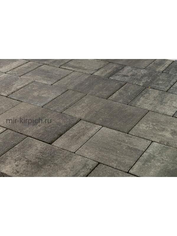 Тротуарная плитка Старый город «Ландхаус» Color Mix Вечер (60мм)